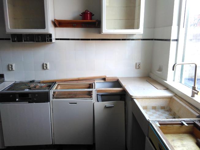 Onze keuken begint ergens op te lijken.