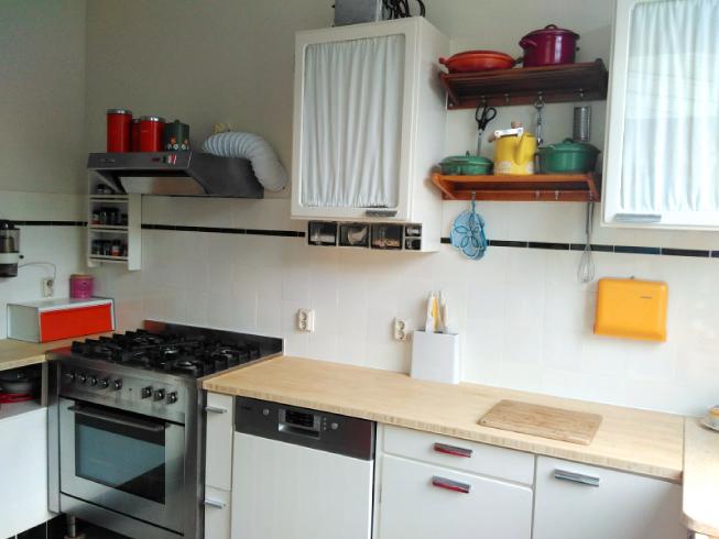 Vintage en retro keuken