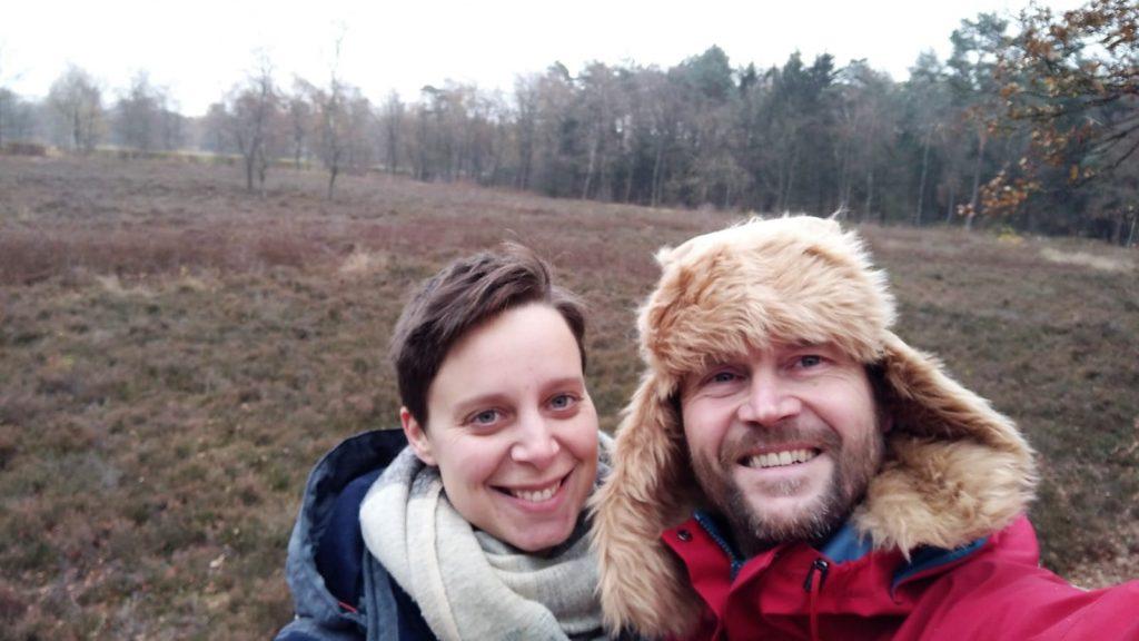 Selfie met de Celtic Fields