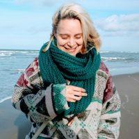 Lisa op het strand